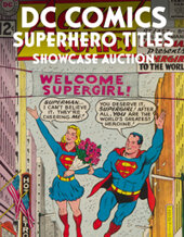 Catalog cover for 2021 August 5 Certified DC Comics Superhero Titles Showcase Auction
