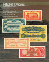 Catalog cover for 2020 April 24 The Drs. Joanne and Edward Dauer Sale of World Banknotes Signature Auction - Dallas