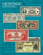 Catalog cover for 2020 January 9 - 13 FUN World Paper Money Signature Auction - Orlando