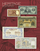 Catalog cover for 2020 April 23 - 27 Central States World Paper Money Signature Auction - Dallas