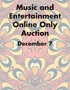 2019 December 7 Music & Entertainment Signature Internet Auction