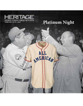 Catalog cover for 2018 February 24 - 25 Platinum Night Sports Collectibles Sports - Dallas