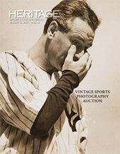 Catalog cover for 2019 August 23 Vintage Sports Photography Catalog Auction