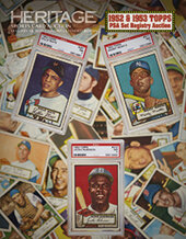 Catalog cover for 2020 January 30 The 1952 Topps & 1953 Topps PSA Set Registry Auction