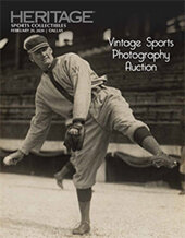 Catalog cover for 2020 February 29 Vintage Sports Photography Catalog Auction