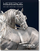 Catalog cover for 2008 May Signature Fine Silver & Vertu Auction
