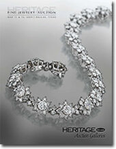 Catalog cover for 2009 MAY Signature Jewelry Auction