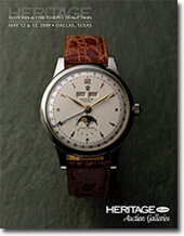 Catalog cover for 2009 MAY Signature Timepieces Auction