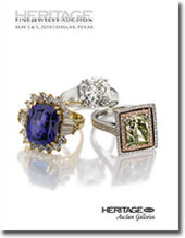Catalog cover for 2010 May Signature Fine Jewelry Auction