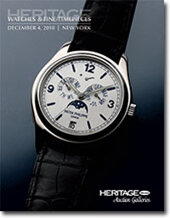 Catalog cover for 2010 December New York Signature Fine Timepieces Auction