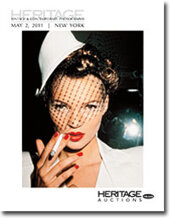 Catalog cover for 2011 May New York Signature Vintage & Contemporary Photography Auction
