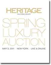 Catalog cover for 2011 May New York Signature Handbags & Luxury Accessories Auction