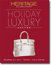 Catalog cover for 2011 December 6 - 7 Handbags & Luxury Accessories Signature Auction- Dallas