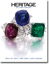 Catalog cover for 2012 April 30 Jewelry Signature Auction- New York