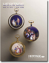 Catalog cover for 2012 May 19 Timepieces Signature Auction - New York