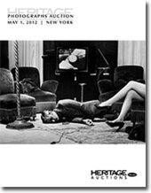 Catalog cover for 2012 May 1 Photographs Signature Auction- New York