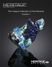 Catalog cover for 2013 June 2  Nature & Science Signature Auction, featuring The Hoppel Collection of Fine Minerals - Dallas