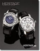 Catalog cover for 2012 November 18 Timepieces Signature Auction - New York