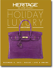 Catalog cover for 2012 December 4 Handbags & Luxury Accessories Signature Auction- Dallas