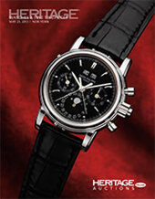 Catalog cover for 2013 May 21 Watches & Fine Timepieces Signature Auction - New York