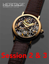 Catalog cover for 2013 November 21 Session 2 & 3: Timepieces Signature Auction - New York