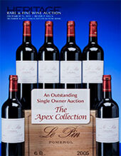 Catalog cover for 2013 December 13 Fine & Rare Wine Signature Auction - Beverly Hills