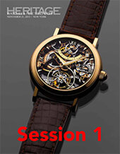 Catalog cover for 2013 November 21 Session 1: Timepieces Signature Auction - New York