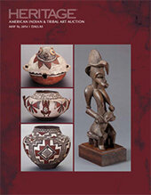 Catalog cover for 2014 May 16 American Indian and Tribal Art Signature Auction -Slocum