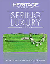 Catalog cover for 2014 April 28 Spring Luxury Accessories Signature Auction - New York