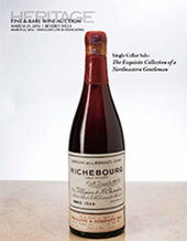 Catalog cover for 2014 March 21 - 22 Fine & Rare Wine Signature Auction - Beverly Hills