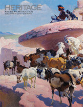 Catalog cover for 2014 November 17 American Art Signature Auction  - New York