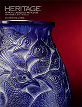 Catalog cover for 2014 November 21 Tiffany, Lalique & Art Glass Signature Auction - Dallas