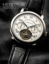 Catalog cover for 2014 November 20 Watches & Fine Timepieces Signature Auction - New York