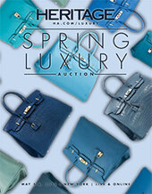 Catalog cover for 2015 May 5 - 6 Spring Luxury Accessories Signature Auction - New York
