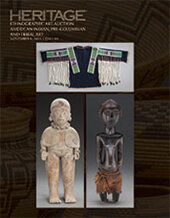 Catalog cover for 2015 November 6 American Indian Art , Pre-Columbian & Tribal Art Signature Auction - Dallas