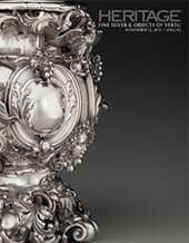 Catalog cover for 2015 November 12 Fine Silver & Objects of Vertu Signature Auction - Dallas