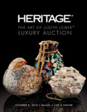 Catalog cover for 2015 October 9 The Art of Judith Leiber Luxury Auction - Dallas