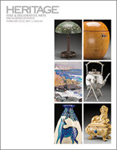 Catalog cover for 2017 February 25 - 27 Fine & Decorative Art Including Estates Signature Auction - Dallas