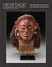 Catalog cover for 2016 September 16 The Silberman Collection of Pre-Columbian and Tribal Art Signature Auction - Dallas