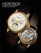 Catalog cover for 2017 October 24 Watches & Fine Timepieces Signature Auction - New York