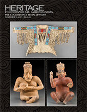 Catalog cover for 2017 November 13 Ethnographic Art: American Indian, Pre-Columbian and Tribal Art Signature Auction
