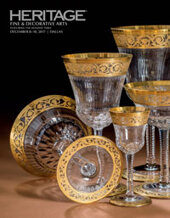 Catalog cover for 2017 December 8 - 10 Fine & Decorative Arts featuring The Holiday Table Signature Auction