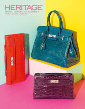 Catalog cover for 2018 March 25 Spring Luxury Accessories Signature Auction - Dallas