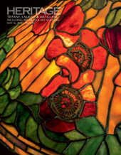 Catalog cover for 2018 May 16 Tiffany, Lalique & Art Glass including Art Deco & Art Nouveau - Dallas