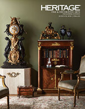 Catalog cover for 2018 June 8 - 10 Fine & Decorative Arts Including Estates Signature Auction