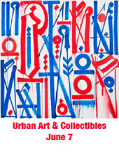 Catalog cover for 2018 June 7 Urban Art Internet Auction