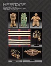 Catalog cover for 2018 November 16 Ethnographic Art : American Indian, Pre-Columbian and Tribal Art Signature Auction - Dallas