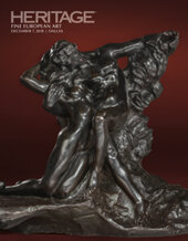 Catalog cover for 2018 December 7 European Art - Dallas