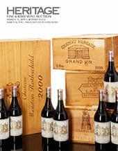 Catalog cover for 2019 March 15 Fine & Rare Wine Signature Auction - Beverly Hills