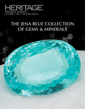 Catalog cover for 2020 October 5 The Jena Blue Collection of Gemstones & Minerals Signature Auction - Dallas